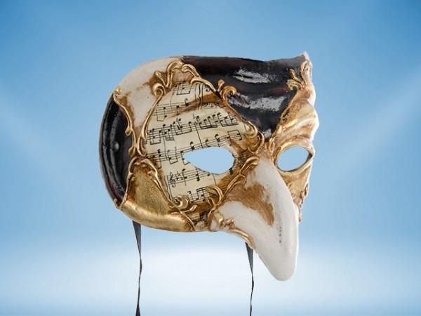 Maske des Pulcinella