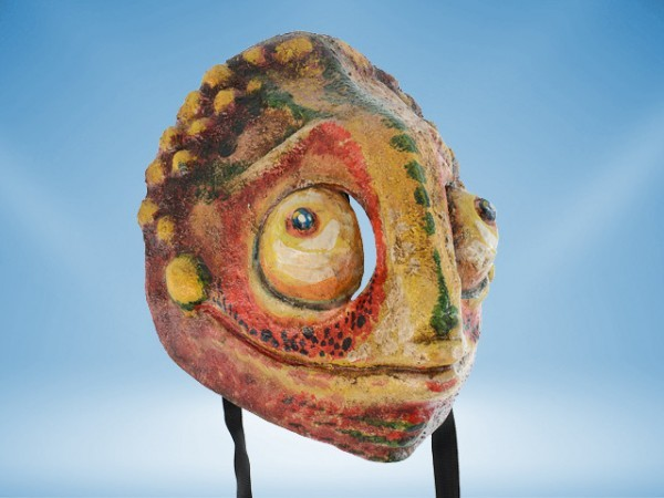 Chamäleon-Maske