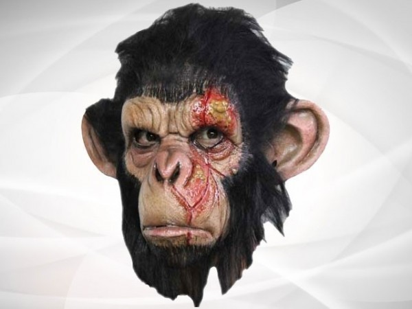 Schimpansen-Maske
