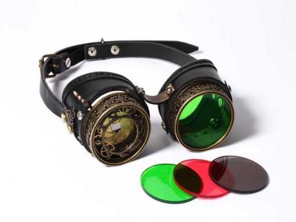"Steampunk Goggles ""Diaphragma"""
