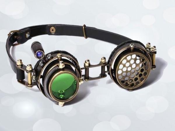 "Steampunk Goggles ""LED–Sucher"""